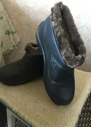 Ботинки зимние пвх утеплённые