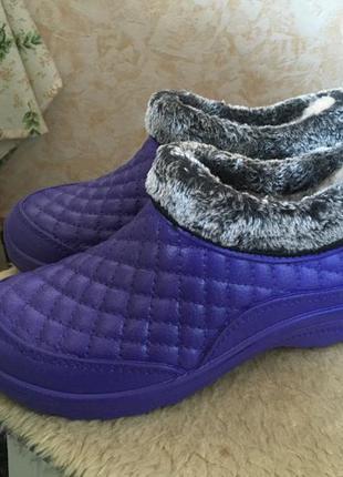 Ботинки зимние пвх утеплённые2 фото
