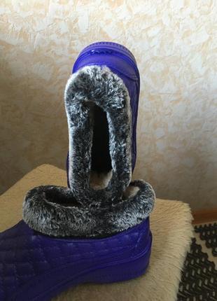 Ботинки зимние пвх утеплённые3 фото