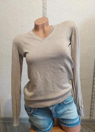 Легкий, хлопковый, пуловер. (5439)