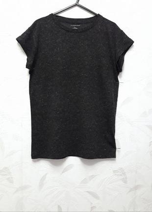 Очень тонкая футболка, 44-46-48, полиэстер, лён, atmosphere