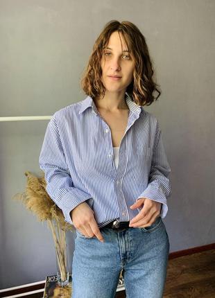 Шикарная хлопковая рубашка3 фото
