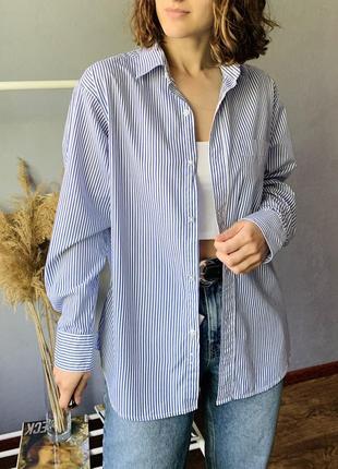 Шикарная хлопковая рубашка4 фото