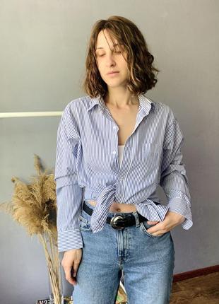 Шикарная хлопковая рубашка7 фото