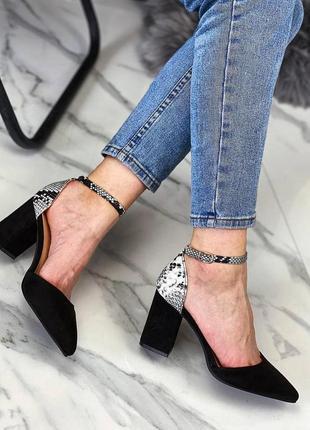 Туфли с ремешком босоножки