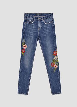 Узкие джинсы скини от zara