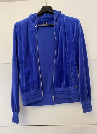 Спортивный костюм синего цвета emporio armani s-m оригинал