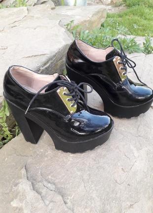 Туфли. ботильйони.