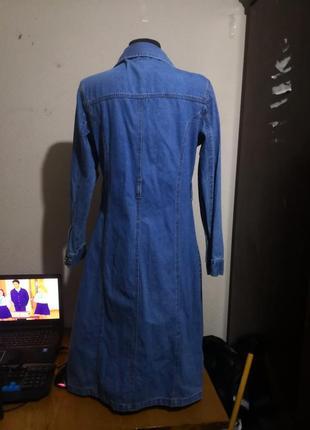 Джинсовое платье4 фото