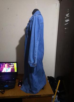 Джинсовое платье3 фото