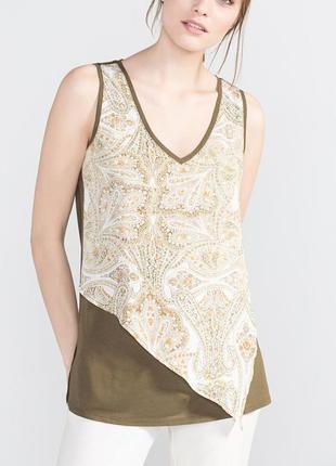 Женская блуза, блузка, топ, футболка, майка, l-xl, наш 48-50 вискоза