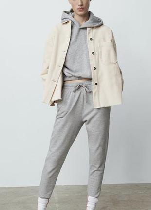 Zara вельветова сорочка-піджак