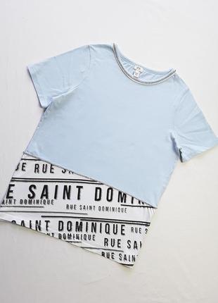 Крутая футболка от river island