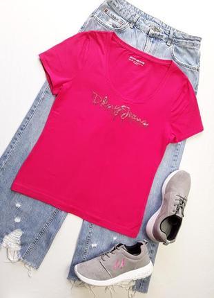 Нарядная футболка donna karan