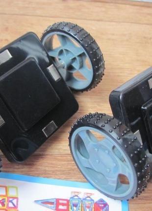 Колёса для конструктора магнитного
