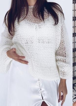 Воздушный, очень красивый мохеровый свитерок