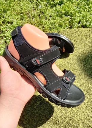 Чоловічі сандалі чорні спорт
