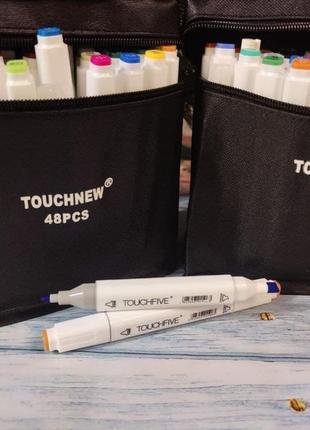 Набор скетч маркеров touchnew (touchfive) 48 шт promarker copic