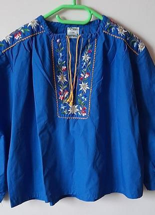 Вышиванка вышитая сорочка рубашка
