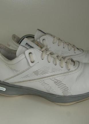 Кроссовки туфли женские reebok easyton из натуральной кожи для ходьбы и фитнеса оригинал