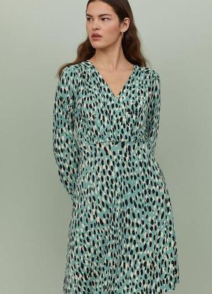 Красивое платье в леопардовый принт