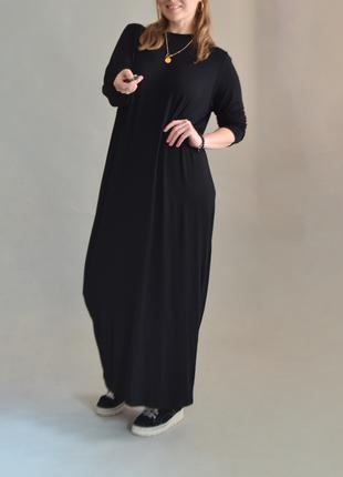 5096\126 длинное трикотажное платье asos xxxl