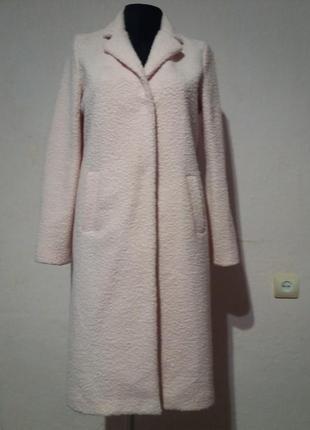 Пальто прямого кроя букле