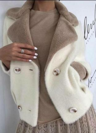 Шикарная шубка,кардиган,пальто,люкс качество,мягенькая,приятная к телу,размер м,стамбул.
