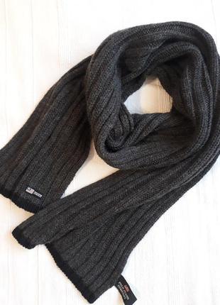 Ralph lauren, брендовый теплый шарф/ шарфик, зимний/ осенний, шерсть в составе.