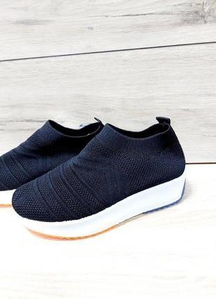 Легкие кроссовки 🌺 мокасины стрейч дышащие текстиль сетка легкие на лето