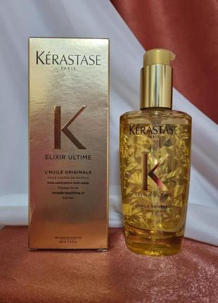Kerastase elixir ultime l'huile originale 100 мл масло  для всех типов волос