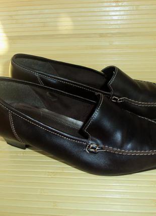 Немецкие кожаные туфли gabor
