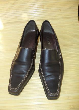 Немецкие кожаные туфли gabor2