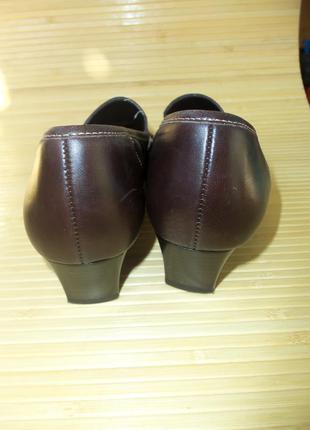Немецкие кожаные туфли gabor3