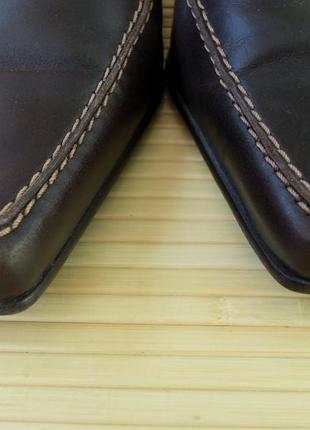 Немецкие кожаные туфли gabor4