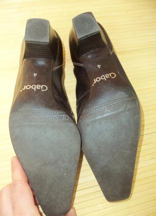 Немецкие кожаные туфли gabor5