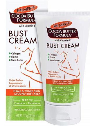 Укрепляющий крем для бюста palmer's cocoa butter formula bust cream, 125 г