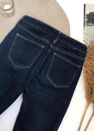 Темно- синие джинсы скинни new look6 фото