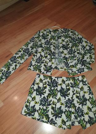 Костюм шорты пиджак жакет