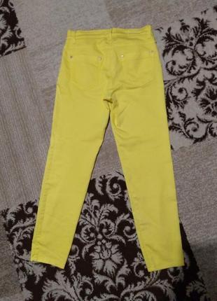 Классные желтые брючки brax2 фото