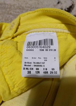 Классные желтые брючки brax5 фото