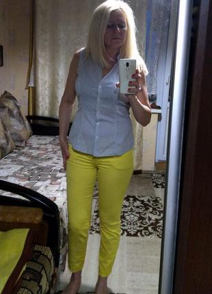 Классные желтые брючки brax9 фото