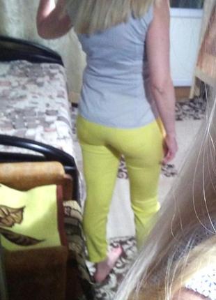 Классные желтые брючки brax10 фото
