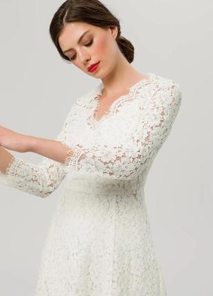 Ivy@oak свадебное вечернее платье макси м