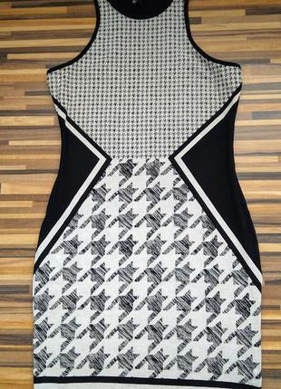 Короткое приталенное платье нм