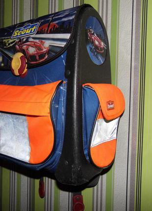 Фирменный школьный рюкзак-прочный- der echte- scout-германия!
