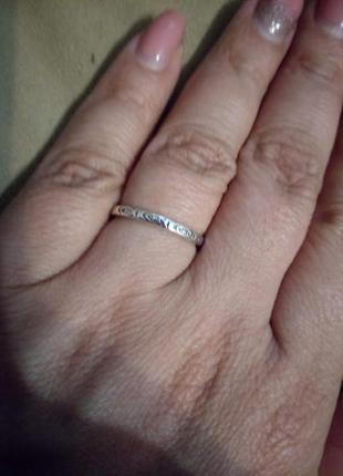 """Серебряное кольцо """"рыбки""""6 фото"""