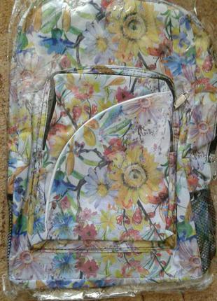 Знижки!!! яскравий стильний рюкзак для дівчинки, виробництво іспанія