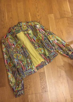 Оригинальная куртка ветровка etro размер s