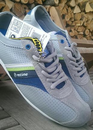 Спортивные туфли-мокасины tm restime
